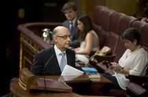 Los presupuestos abordan su primer trámite parlamentario pendientes del PNV