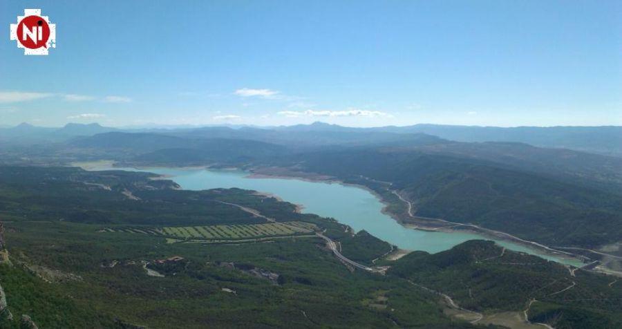 Pantanos de la cuenca del Ebro, al 75 % tras subir un 1,3 % la última semana