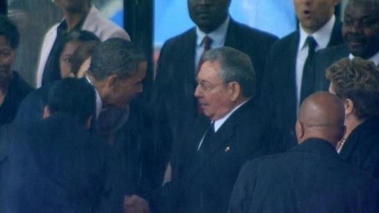 Obama y Raúl Castro inician en la ONU su segunda reunión bilateral