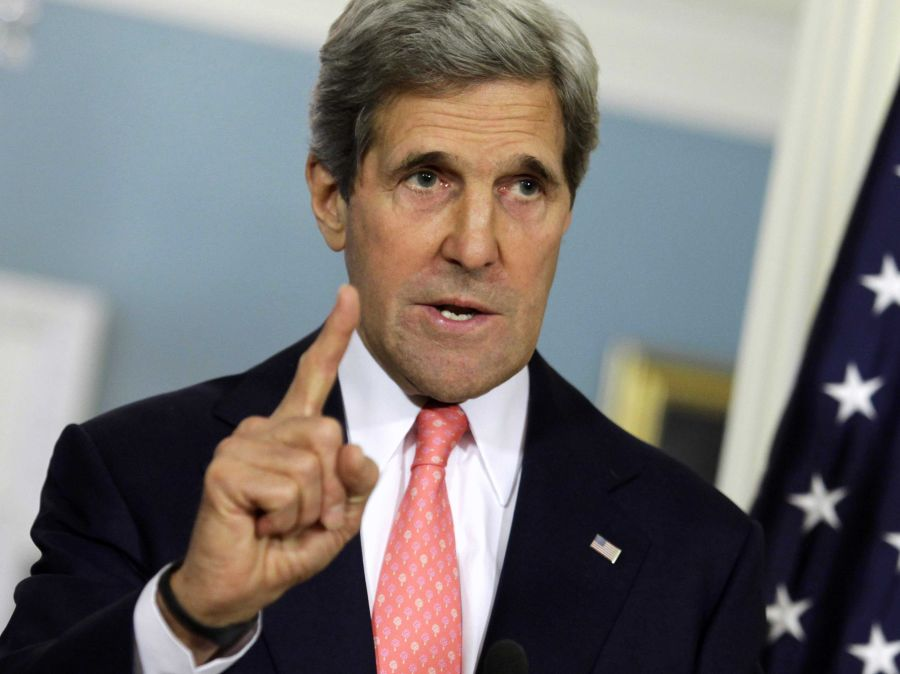 """Kerry advierte del posible """"colapso"""" de la Autoridad Palestina"""