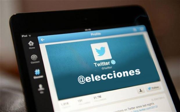 Analizan la 'viralidad' de Twitter en los procesos electorales