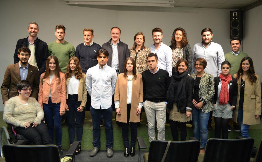 """Esparza (UPN): Los jóvenes son """"valor de futuro, una garantía de renovación para nuestro partido"""""""
