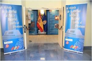 Exposición Policia víctimas ETA