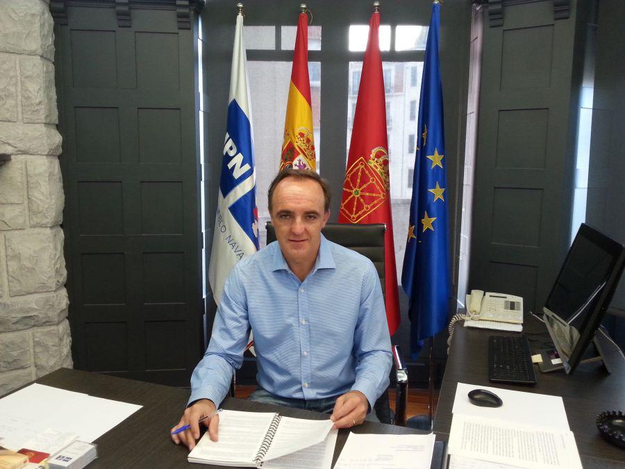 Esparza afirma que el pacto alcanzado con el PP 'blinda Navarra'