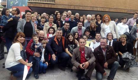 Los candidatos del PSN trasladan en Madrid su compromiso con Navarra