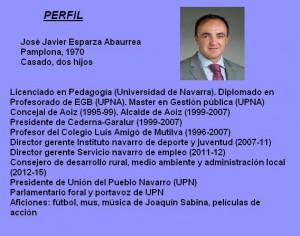 Perfil Jose javier esparza