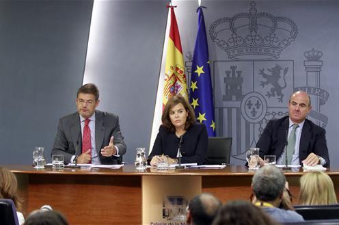 El Gobierno cree que la situación en Cataluña es igual o peor que antes del 27S