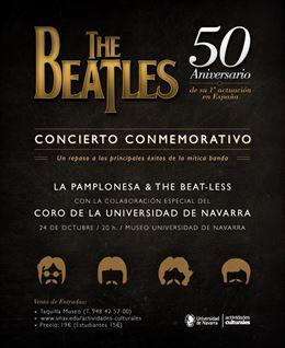 La Pamplonesa, The Beat-less y el coro de la UN recordarán el primer concierto de los Beatles en España