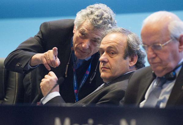 Villar se pone al frente de la UEFA durante la sanción a Platini