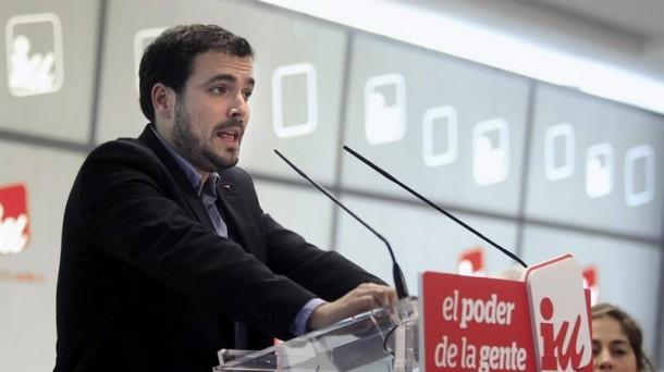 """20 D: Garzón dice que """"en tiempos de crisis las elecciones no se ganan en el centro"""""""