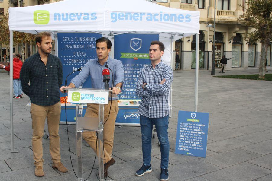 """Zalba: """" Con el pacto UPN-PP ganan Navarra y los Navarros"""""""
