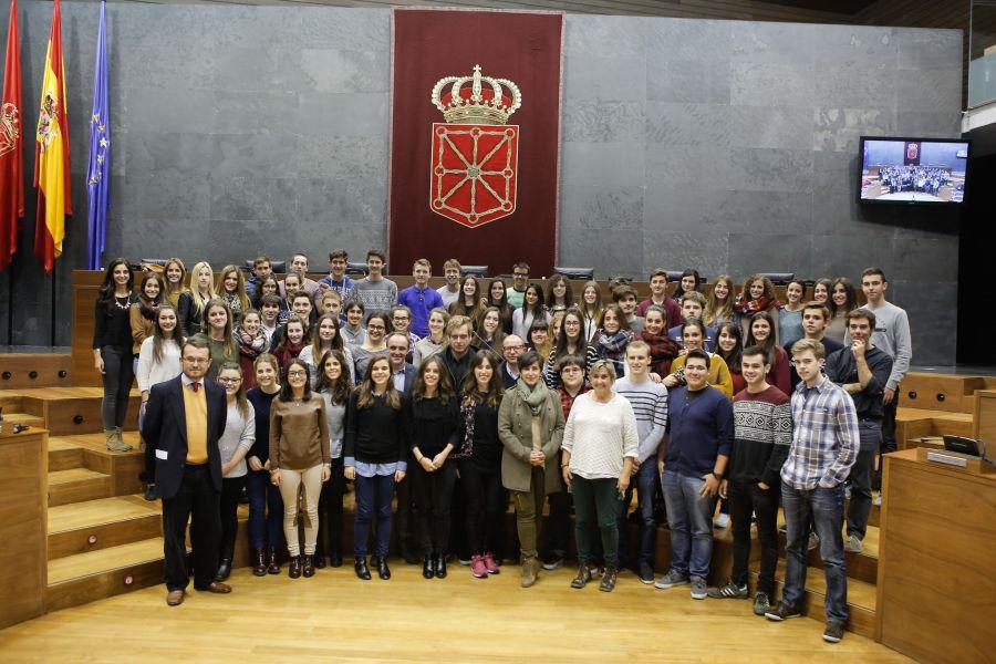 IV Encuentros entre Parlamentarios y Estudiantes universitarios
