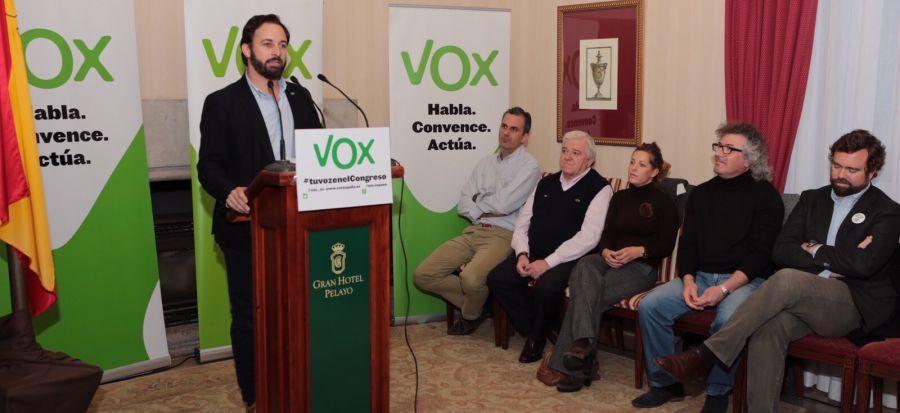 """20 D: """"VOX es el único partido que puede combatir la corrupción sin demagogias"""""""