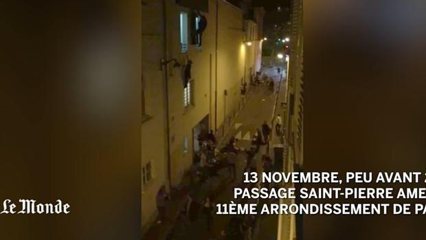 Un vídeo muestra unas escenas escalofriantes del horror vivido en la sala de conciertos Bataclan