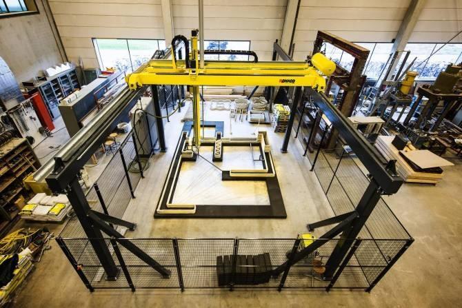 Impresión 3D en hormigón