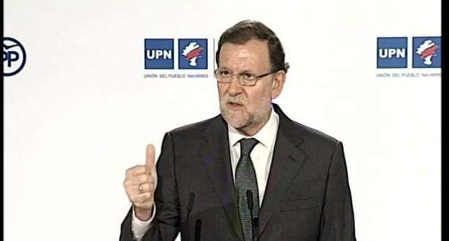 Rajoy dice que mantendrá el Convenio navarro y apoyará eliminar la Transitoria Cuarta si hay reforma constitucional