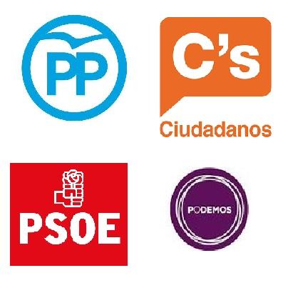 Los partidos se citan mañana para acordar recortes en la campaña electoral