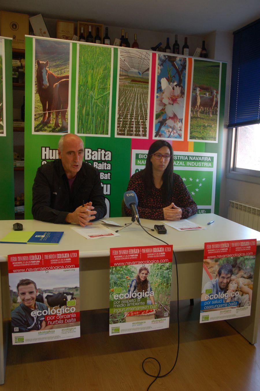 I Feria Navarra Ecológica en Pamplona durante tres días