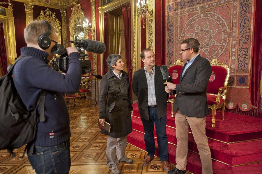 Un experto finlandés recaba en Navarra información sobre el euskera