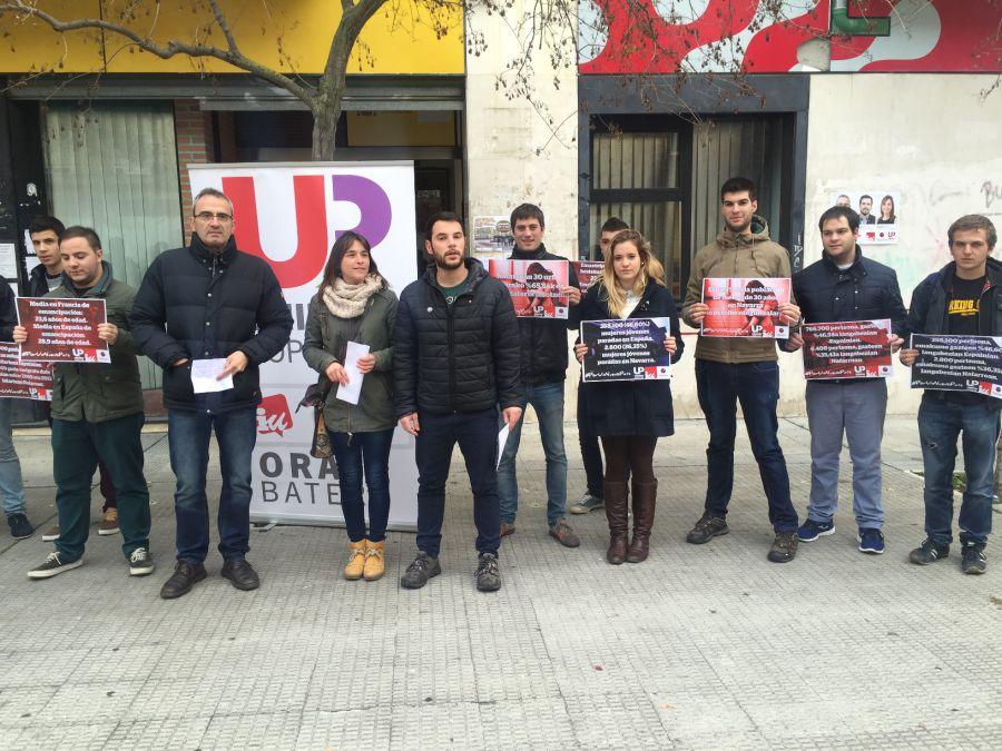 """20 D: Unidad Popular apela al voto de los jóvenes y a que el """"pueblo tome el poder"""""""