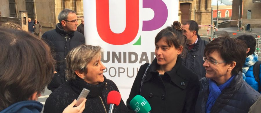 20 D: Alfaro (UP) reivindica el papel de las mujeres de izquierdas en las instituciones.