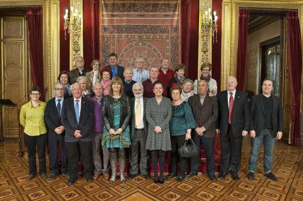 La consejera Ollo muestra el apoyo del Gobierno foral a la labor de los centros navarros en España