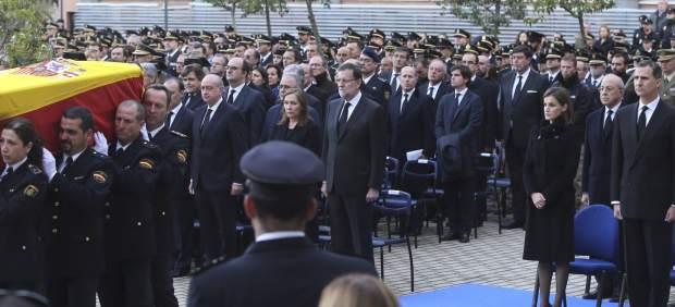 La Policía rinde homenaje a sus héroes de Kabul