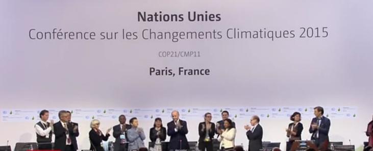 Acuerdo histórico de 195 países para luchar contra el cambio climático para 2020