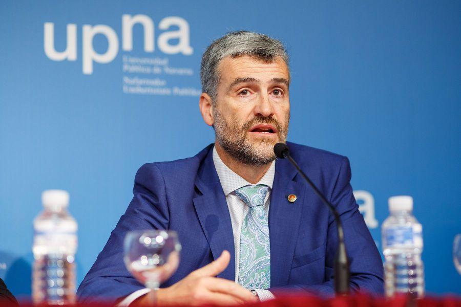 """El rector de la UPNA """"abre"""" su informe a la comunidad universitaria"""
