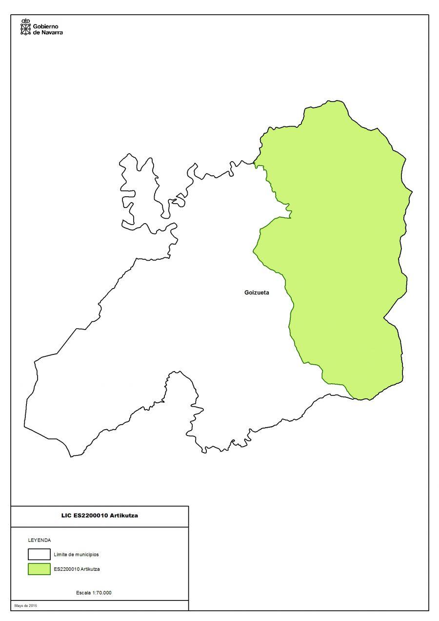 """""""Río Areta"""" y """"Artikutza""""  zonas especiales de conservación por el gobierno de Navarra"""