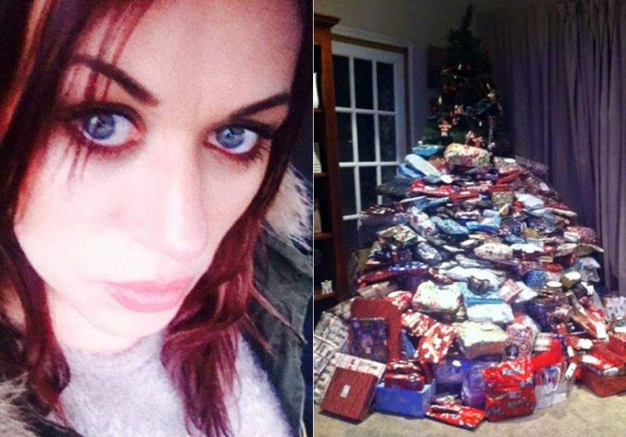 'La madre del año' : compra 300 regalos de Navidad a sus hijos yse vuelve viral