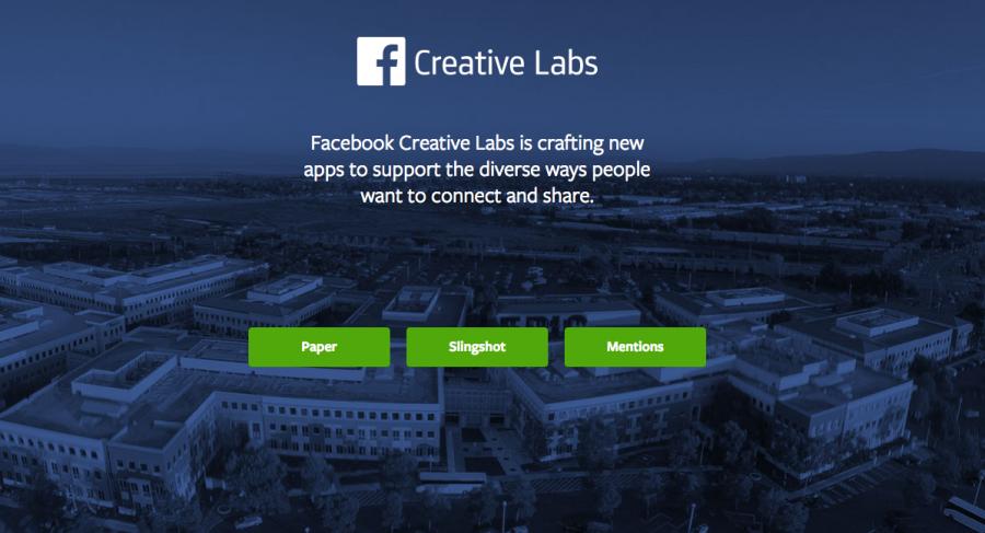 Facebook cierra Creative Labs, su división de desarrollos creativos