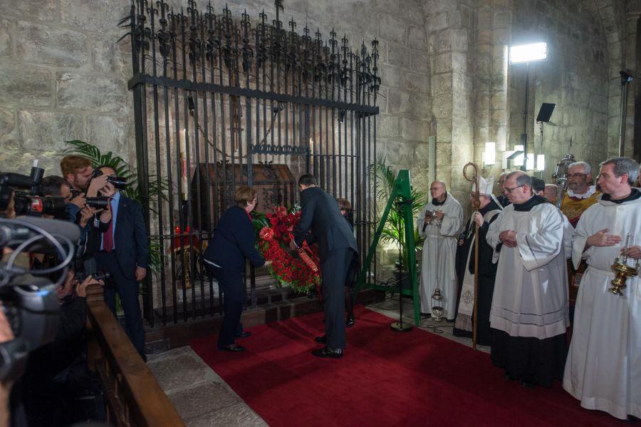 El Gobierno foral celebrará el homenaje a los Reyes de Navarra
