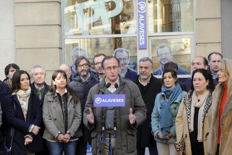 """20 D: Alonso pide agrupar el voto en el PP ante el riesgo de """"coaliciones extrañas"""""""