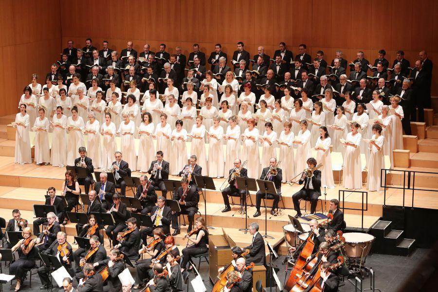 Orfeón Pamplonés Misa' nº3 de Bruckner'