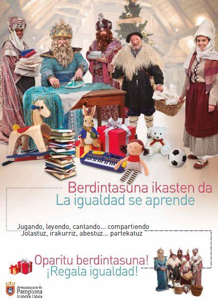 """El Ayuntamiento impulsa una campaña de """"igualdad"""" en Navidad"""