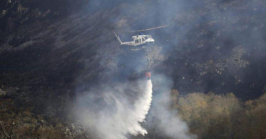 Continúan las labores de extinción en el norte de España para acabar con más de 20 incendios