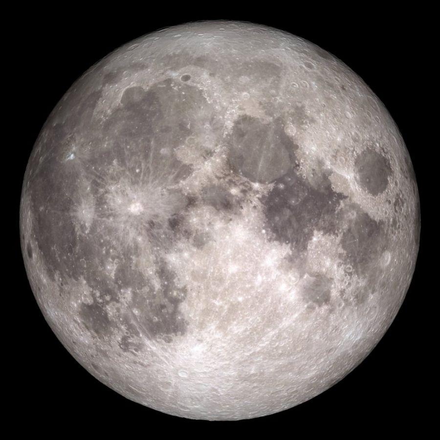 Asteroides pudieron llevar agua al interior de la Luna, según un estudio