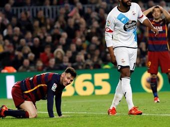 Messi vuelve a entrenase aunque todavía es duda para mañana