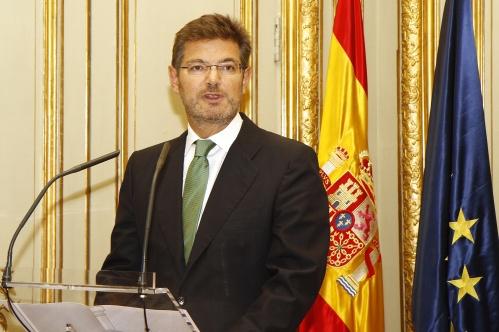 Catalá avisa de que el Estado de Derecho no está en funciones