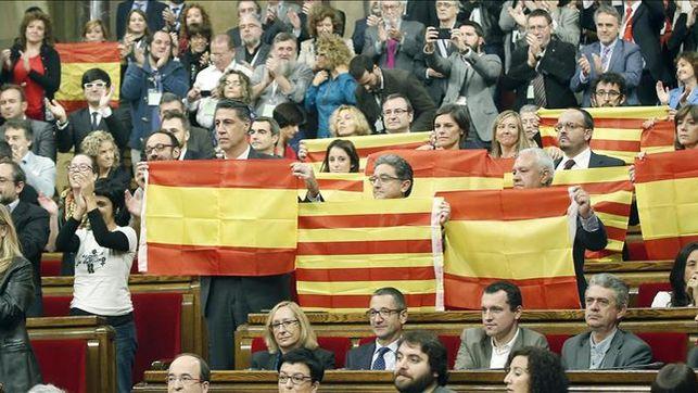 Los partidarios en Cataluña de reconocer la independencia caen al 36%, según el CIS