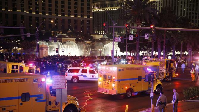 37 heridos y un muerto en un atropello en el complejo Planet Hollywood de Las Vegas