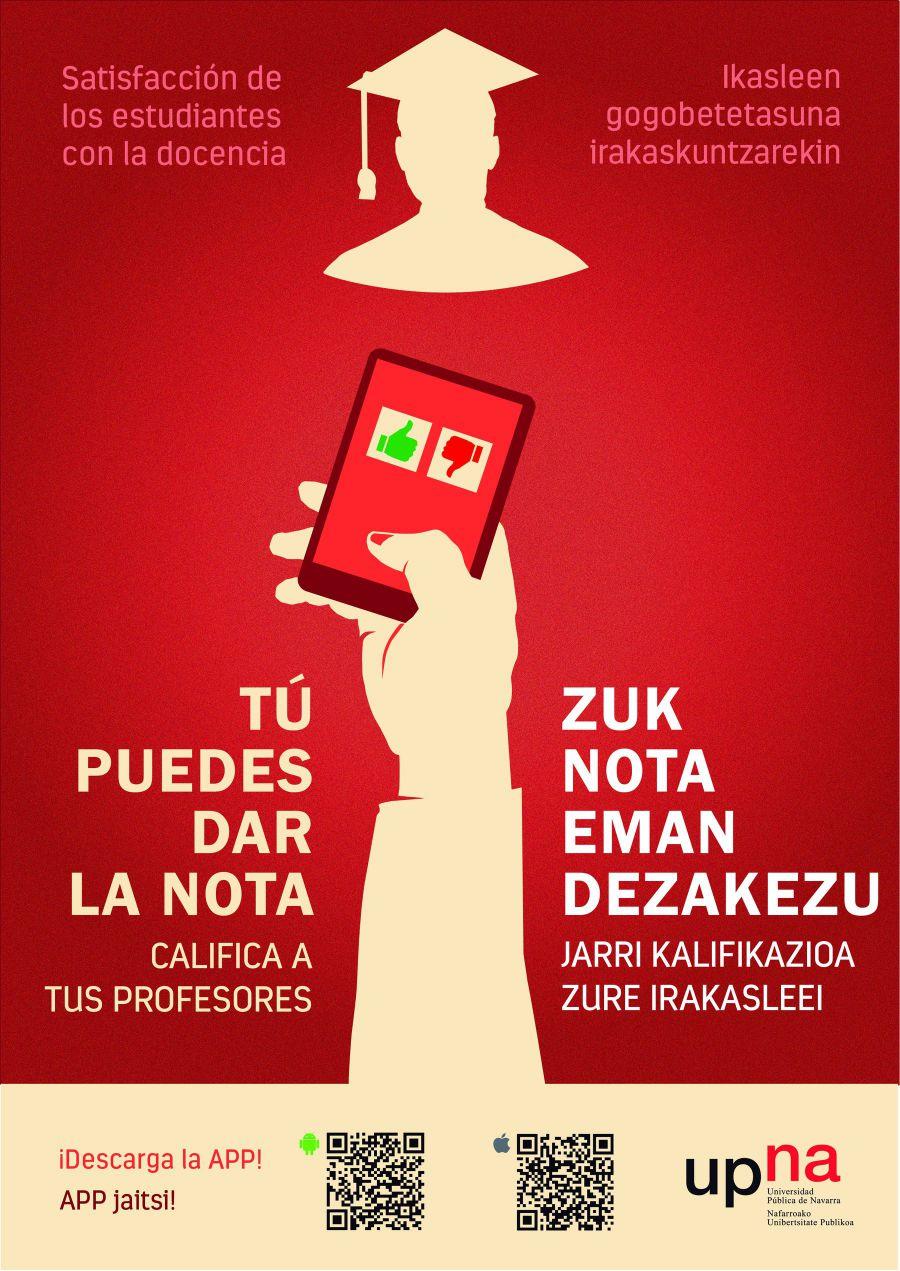 La Universidad Pública de Navarra pone en marcha una encuesta para evaluar al profesorado