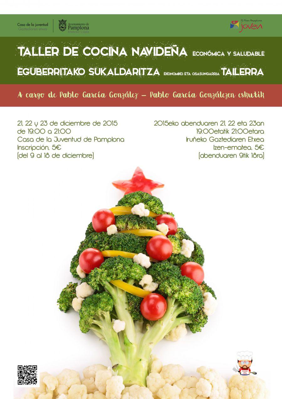 AGENDA: 21 al 23 de diciembre, en Casa de la Juventud, Taller de cocina navideña