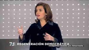 """Sáenz de Santamaría ofrece ante el 20D """"una España mejor"""" y no una """"España incierta"""""""