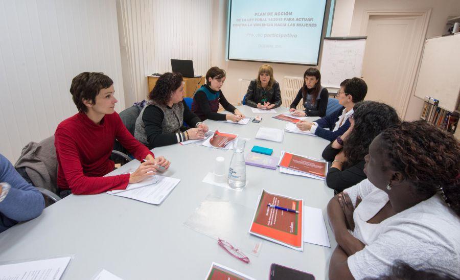Profesionales de diferentes organismos elaboran conjuntamente el Plan de Acción contra la Violencia hacia las Mujeres