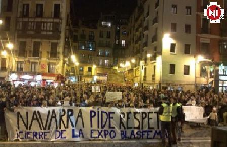 El Defensor del Pueblo traslada a la Fiscalía General del Estado las quejas ciudadanas contra la exposición blasfema de Pamplona