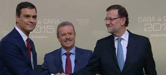 """9,6 millones de espectadores siguieron el """"cara a cara"""" entre Rajoy y Sánchez"""