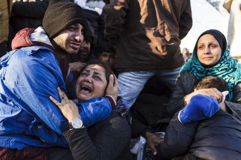 ACNUR: La vida de 12.000 sirios en la frontera sirio-jordana está en riesgo