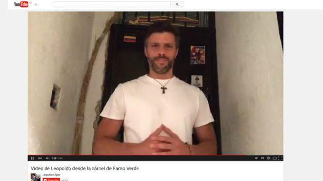 La Fiscalía venezolana autoriza votar al opositor encarcelado Leopoldo López